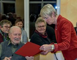 ...Ehemann Herbert Sieber feierten ihr 50-jähriges SPD-Jubiläum.