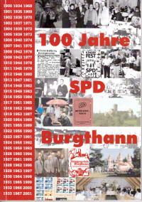 Chronik 100 Jahre SPD Burgthann - Titelseite