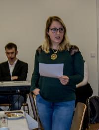 Nadine Aigner gab Interessantes aus den Jahren der Parteieintritte zum Besten.