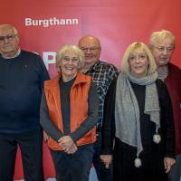 die Jubilare 2019 des Burgthanner Ortsvereins